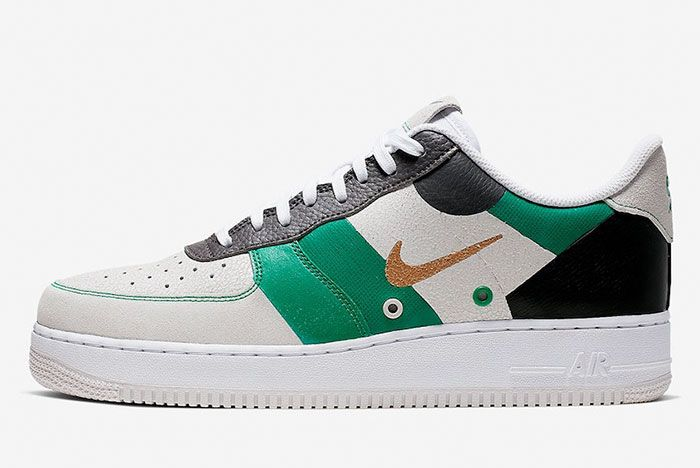 Nike Air Force 1 Low Prm Ci0065 100 Lateral