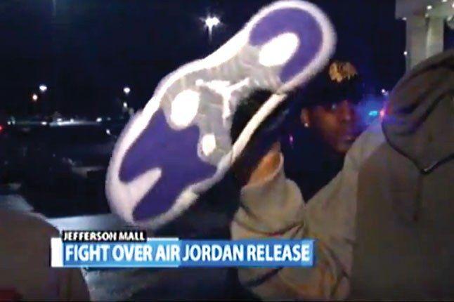 Fight Over Air Jordan 1