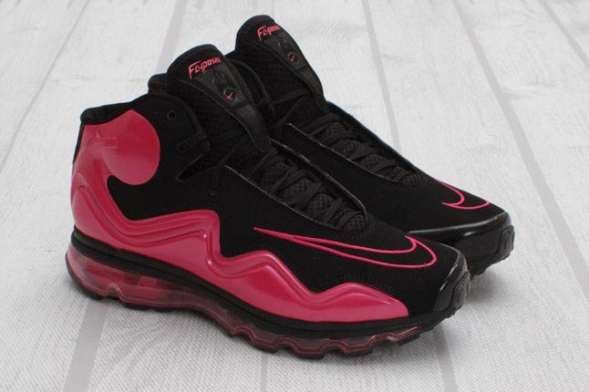 Nike Air Max Flyposite Vivid Pink Black Quater 1