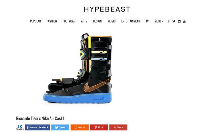 Sneaker Freaker April Fools Hypebeast 1