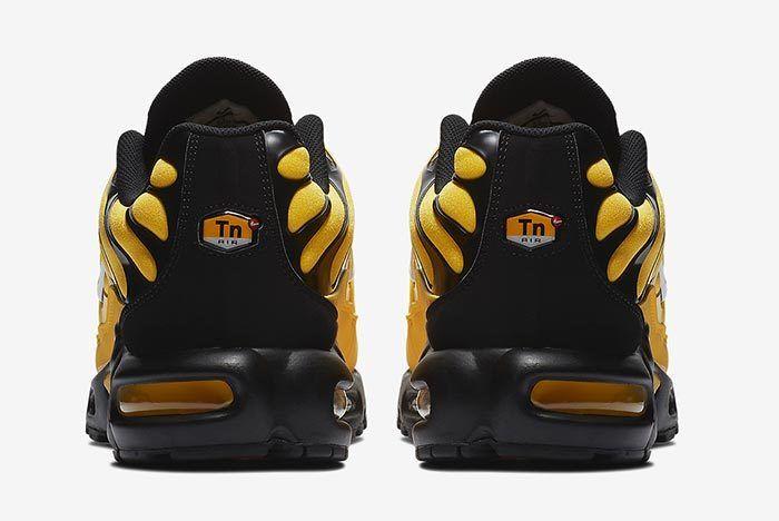 Nike Air Max Plus Yellow 4