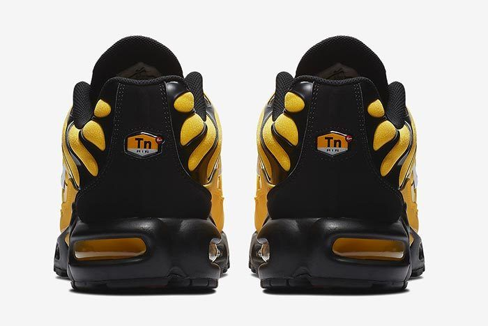Nike Air Max Plus Yellow 4