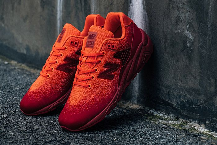 New Balance Mrt 580 Knit Orange 2