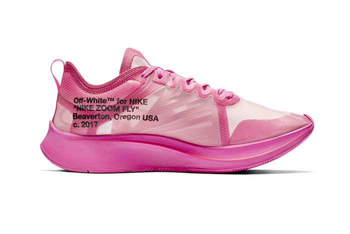 Off White Nike Zoom Fly Sp Black Pink Official 7