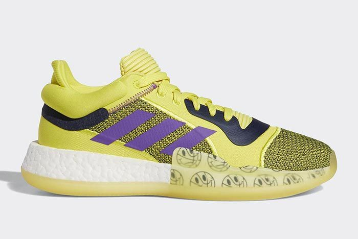 Adidas Marquee Boost Low Yellow 1