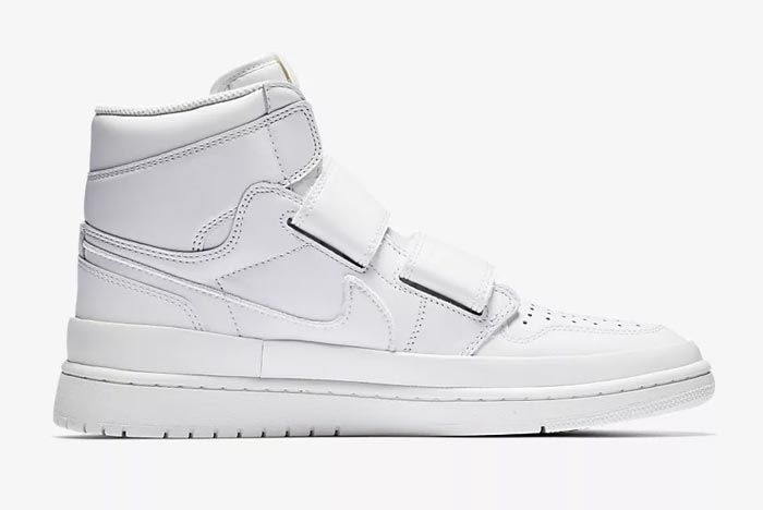 Air Jordan Double Strap White 1