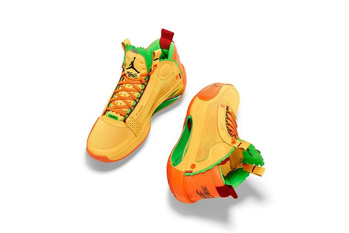 Air Jordan 34 Taco Jay Top