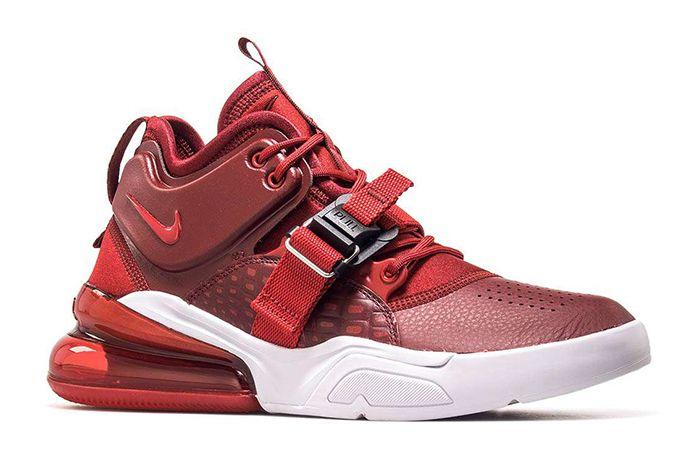 Nike Air Force 270 Red Croc Ah6772 600 1 Sneaker Freaker