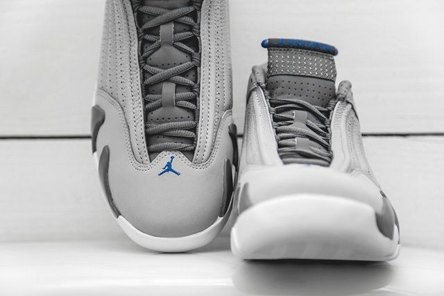 Air Jordan 14 Blue Bumper 3