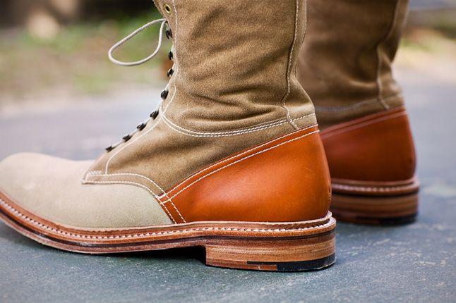 Garbstore X Grenson 2012 Fall Winter Collection High Leg Boot Tan 1
