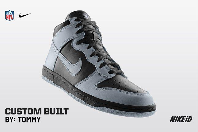 Nike Id Nfl Oakland Raiders 1