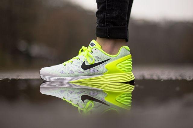 Nike Lunarglide 6 Gs Liquid Lime Volt 4