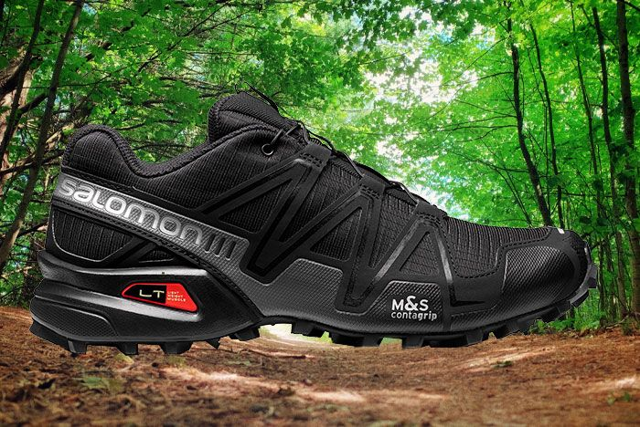 Salomon Speedcross 3 Adv Black Lateral