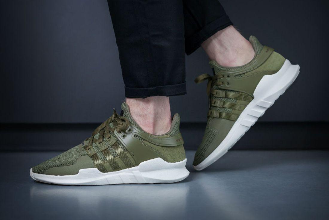 Adidas Eqt Support Adv Olive3