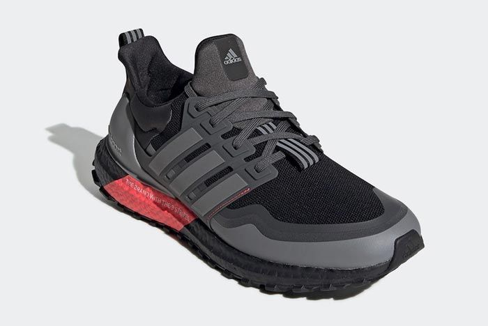 Adidas Ultraboost All Terrain Black Red Grey Front