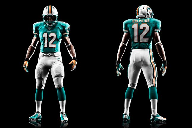 Miami Dolphins Uniform 1