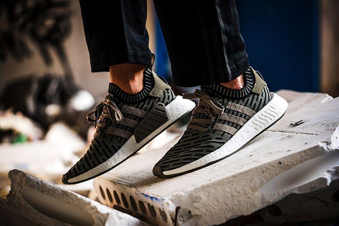 Adidas Nmd R2 On Foot 11