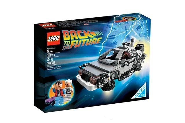 Lego Bttf Delorean Packaging