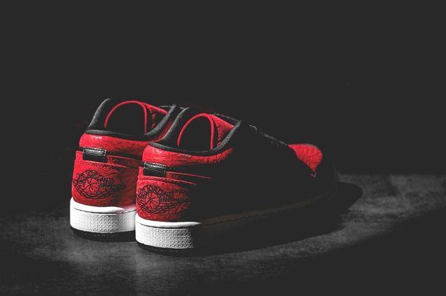 Air Jordan 1 Low Gym Red 3