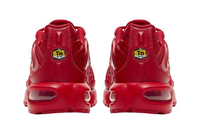 Nike Air Max Plus Triple Red Cq9748 600 Release Date Heel