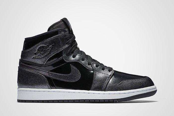 Air Jordan 1 Black Patent Thumb