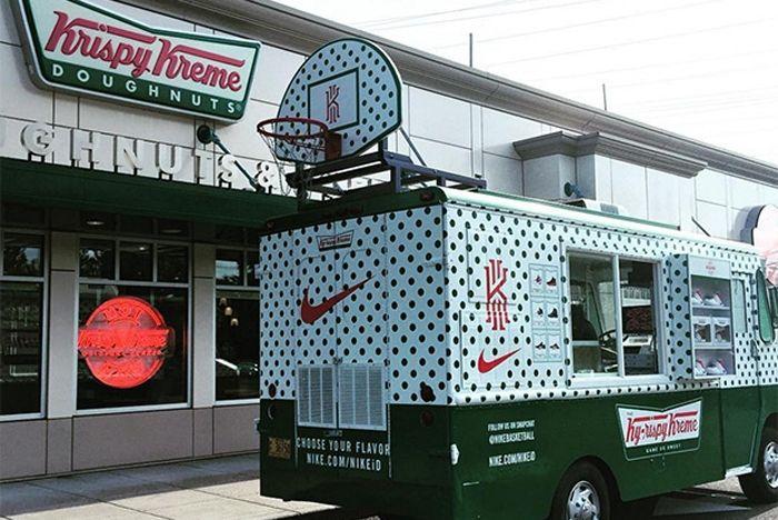 Kyrie Krispy Kreme