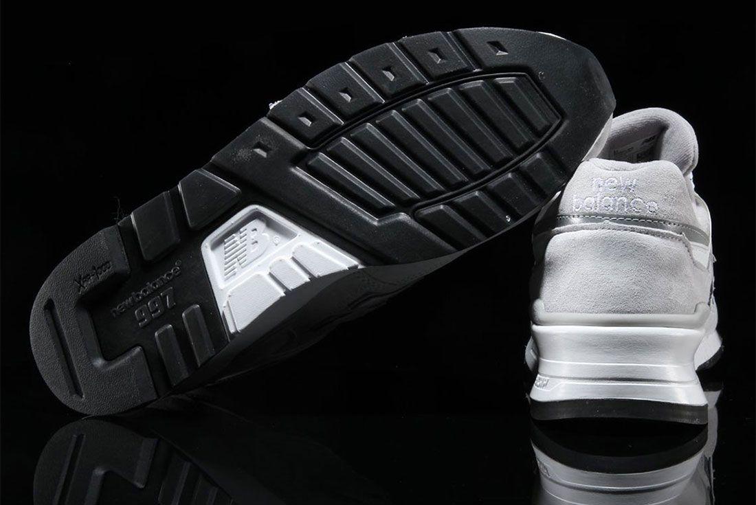 New Balance 997 Grey Velcro Logo 3 Outsole