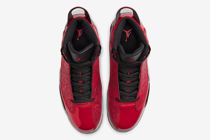 Jordan Dub Zero Varsity Red Black Grey 311046 600 Top