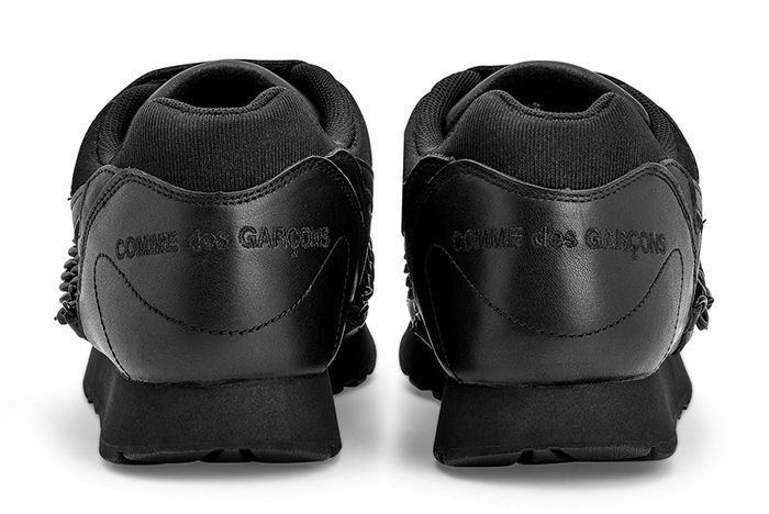 Cdg Nike Outburst Black Heel