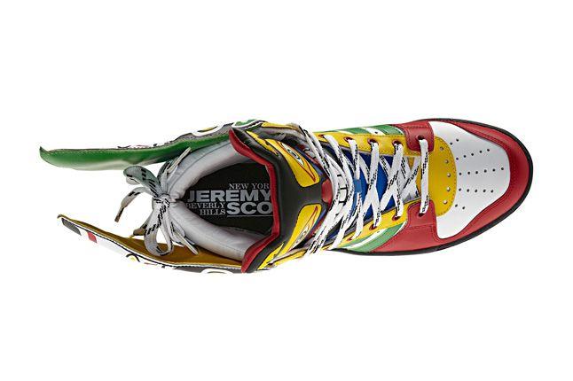Adidas Originals Js Wings Totem Pole Top View 1