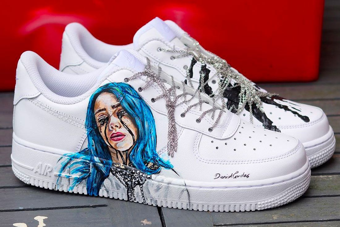 Nike Air Force 1 Billie Eilish