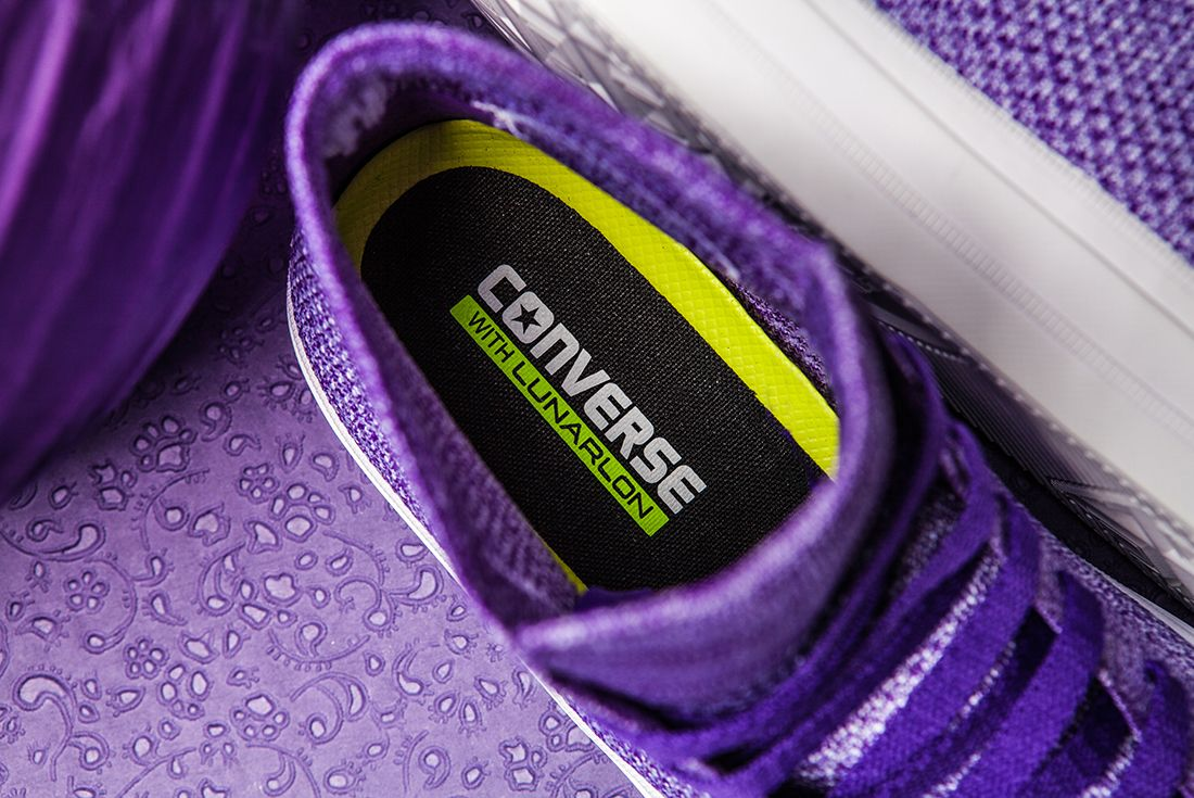 Converse Flyknit Hi 157508 Grape 1589