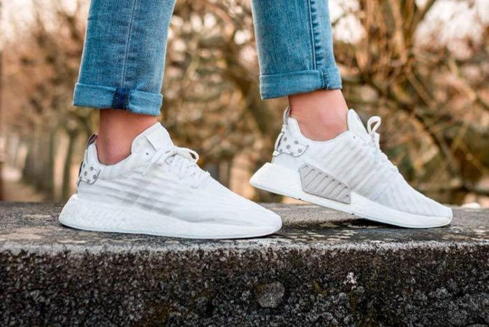 Adidas Nmd R2 Clear Granite Feature
