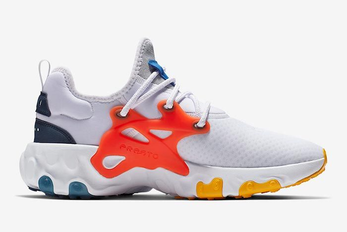 Nike React Presto Breezy Thursday Av2605 100 Medial Side Shot