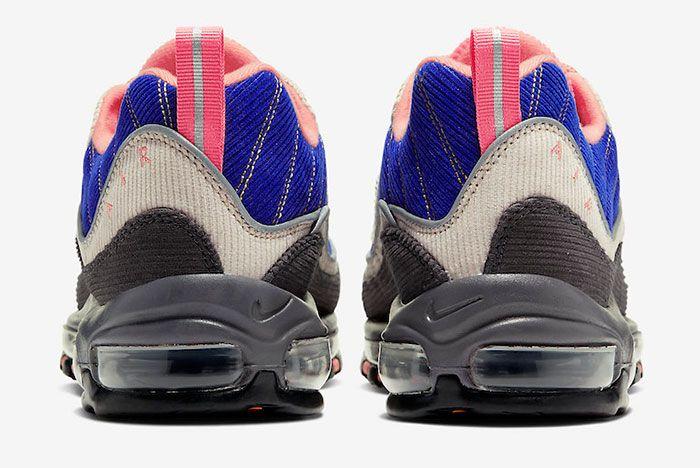 Nike Air Max 98 Corduroy Cq7513 044 Release Date 5Heel