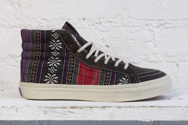 Dqm Vans Womens Winter Collection Sk8 Slim Side 1