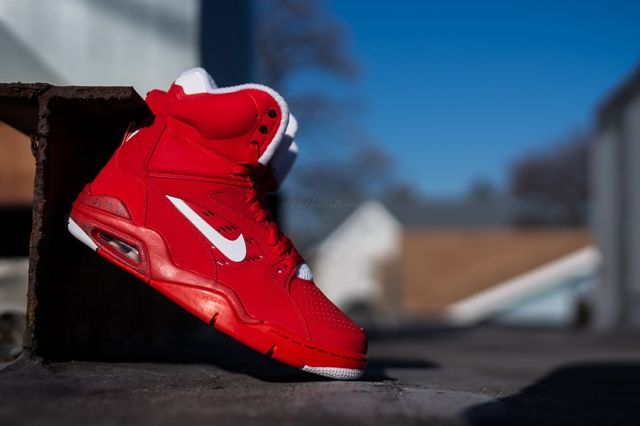 Nike Air Force Command University Red 6