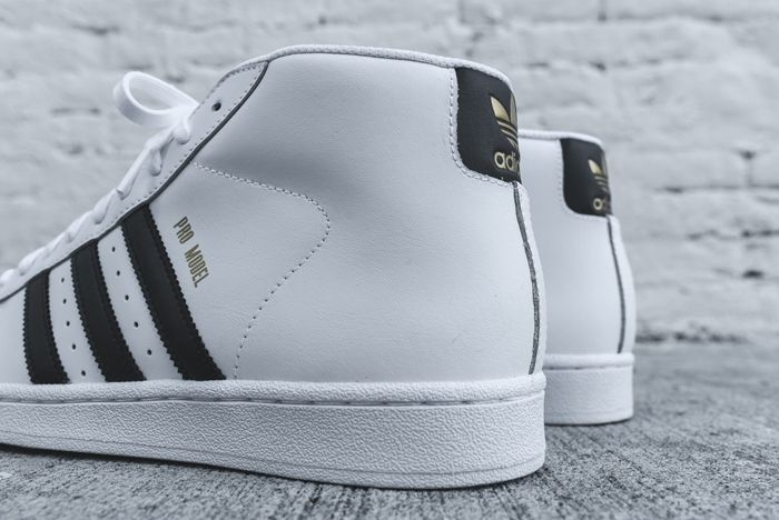 Adidas Originals Pro Model Og White Black 4
