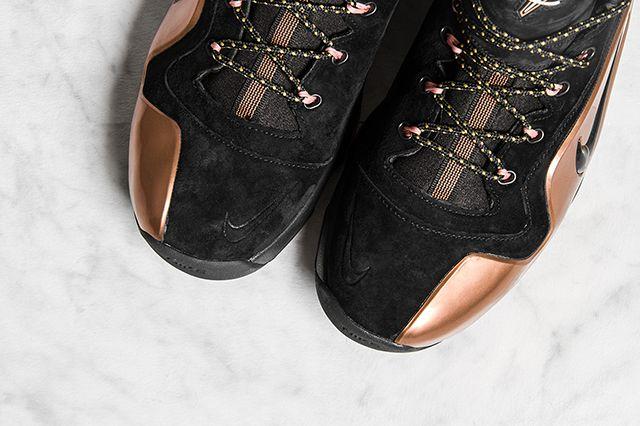 Nike Zoom Penny 6 Premium Black Metallic Copper 6