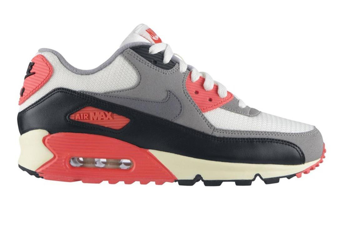Nike Air Max 90 Vintage Infrared Lateral Side Shot