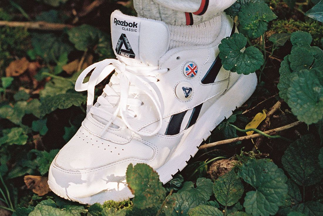 Palace x Reebok Classic Leather Pump