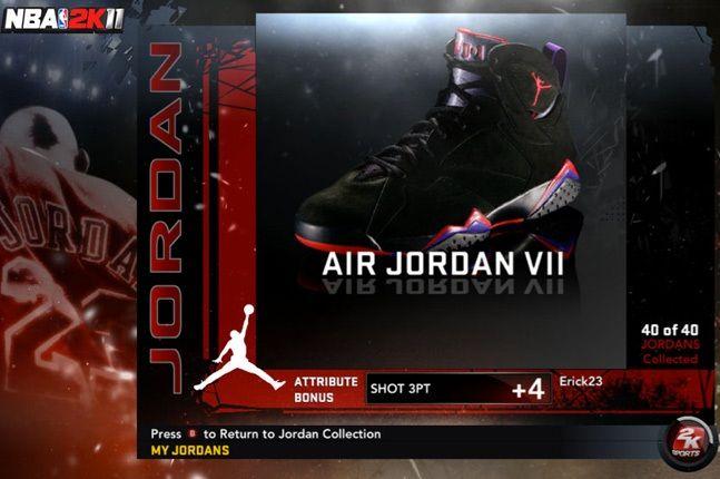 Jordan Nba 2K11 Vii 1