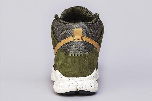Nike Sb Dunk High Oms Light Green Gold 3
