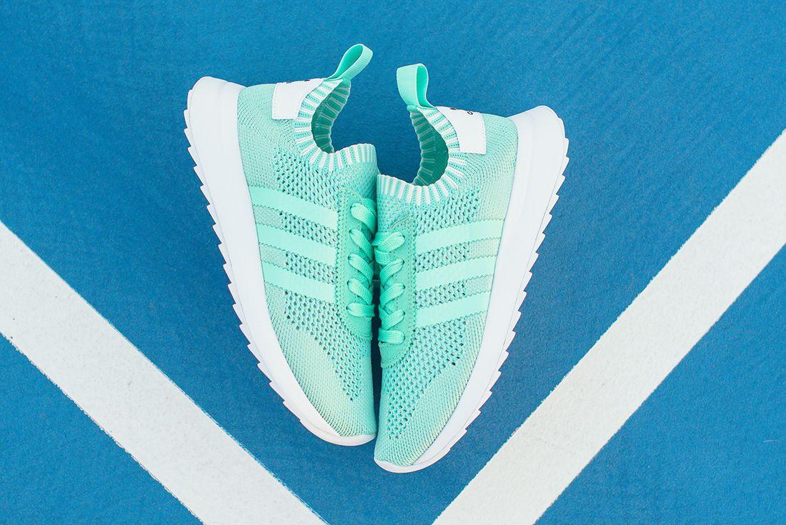 Adidas Flashback Primeknit Wmns Easter Green 3