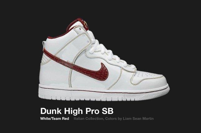 Nike Dunk High Italian Collection Sb 2006 1