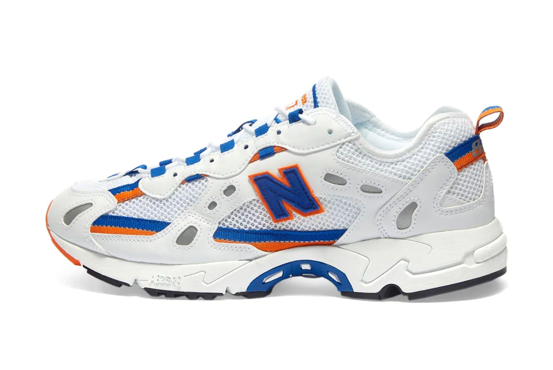 New Balance 827 (White/Royal/Orange)
