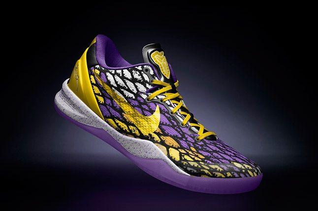 Kobe 8 System Nikeid Purp Yellow 1
