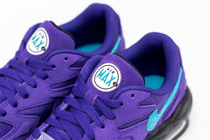Nike Air Max 2 Light Hornets Purple 2