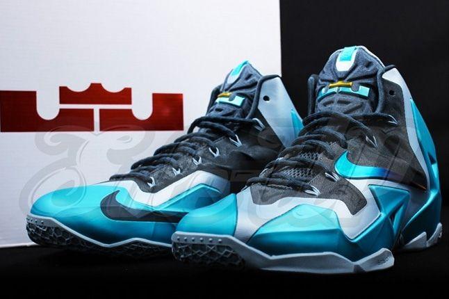 Nike Lebron 11 Gamma Blue 1