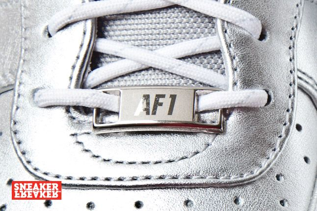 Nike Air Force 1 Downtown Silver 7 1